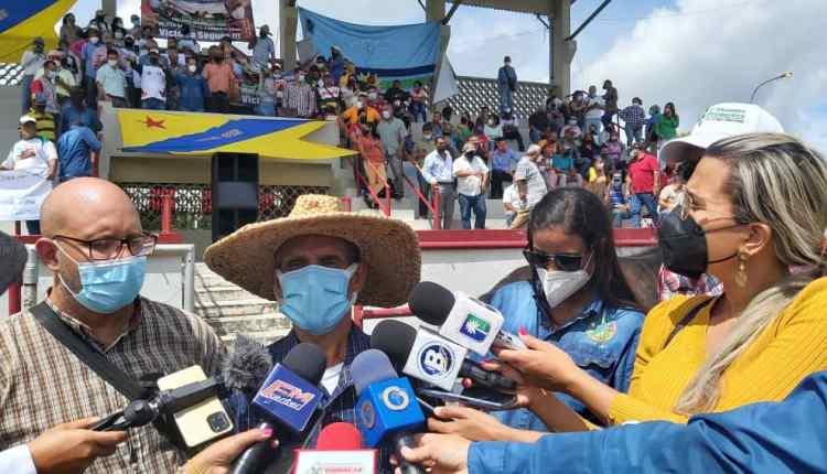 Representantes del sector Agroproductivo en Monagas.