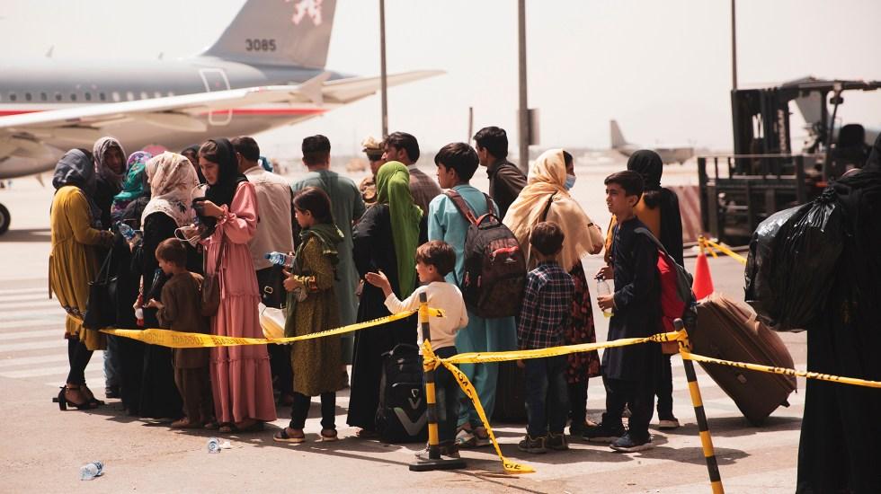 Talibanes culparon a EEUU de las muertes civiles en el aeropuerto de Kabul
