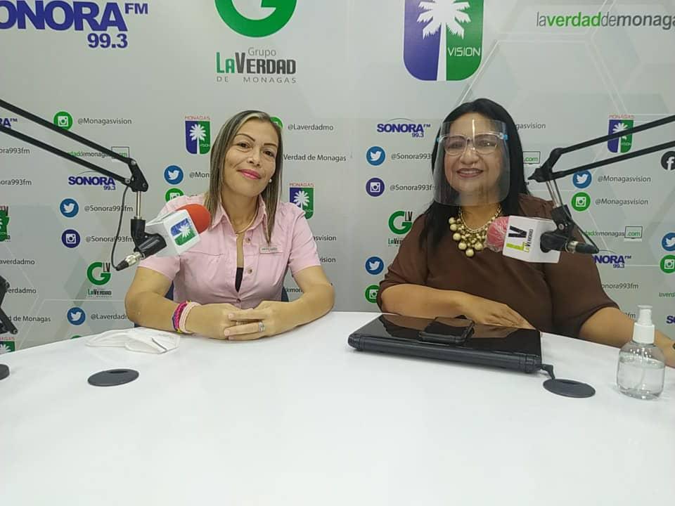 carmen sosa la gente debe votar por la tarjeta de la manito laverdaddemonagas.com estrellin