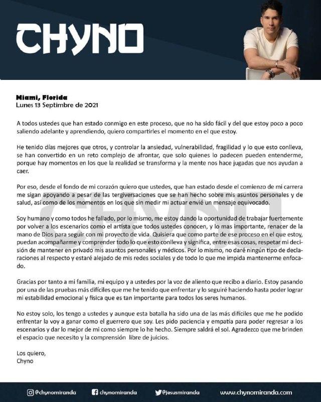 Chyno Miranda