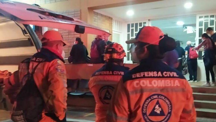 incendio en hospital de colombia
