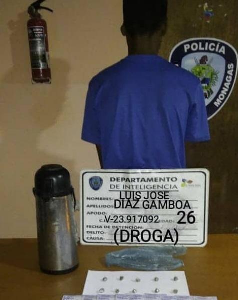 integrante de la banda los cafecripy fue detenido en plaza 7 laverdaddemonagas.com dddddd