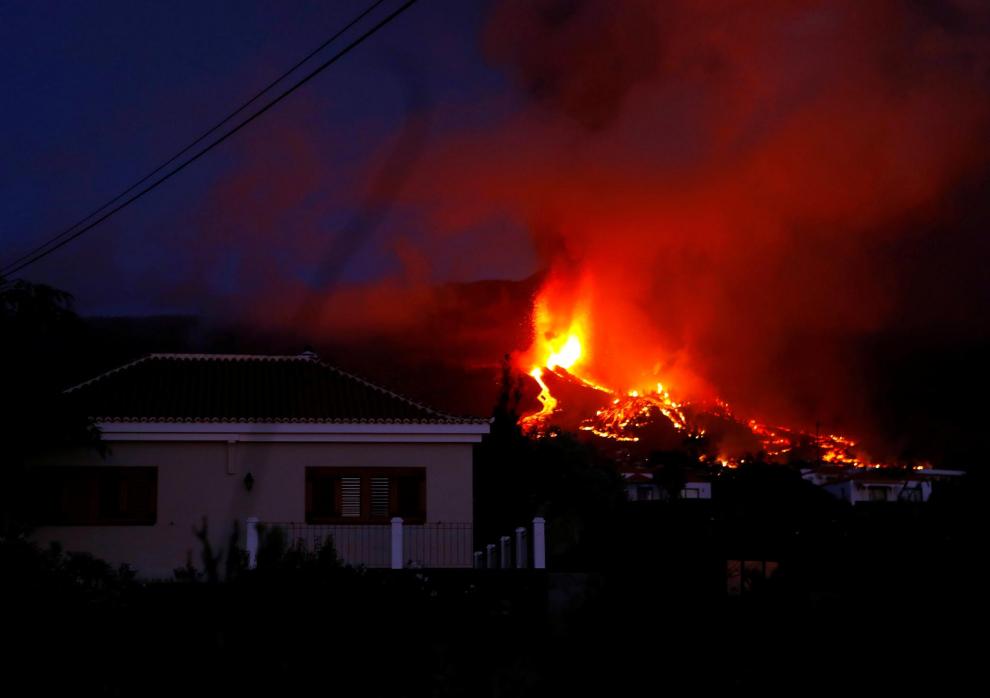 la palma se prepara para explosiones y gases nocivos al llegar la lava al mar laverdaddemonagas.com 6147c1bce2001