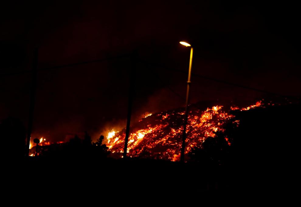 la palma se prepara para explosiones y gases nocivos al llegar la lava al mar laverdaddemonagas.com 6147c1be0435d