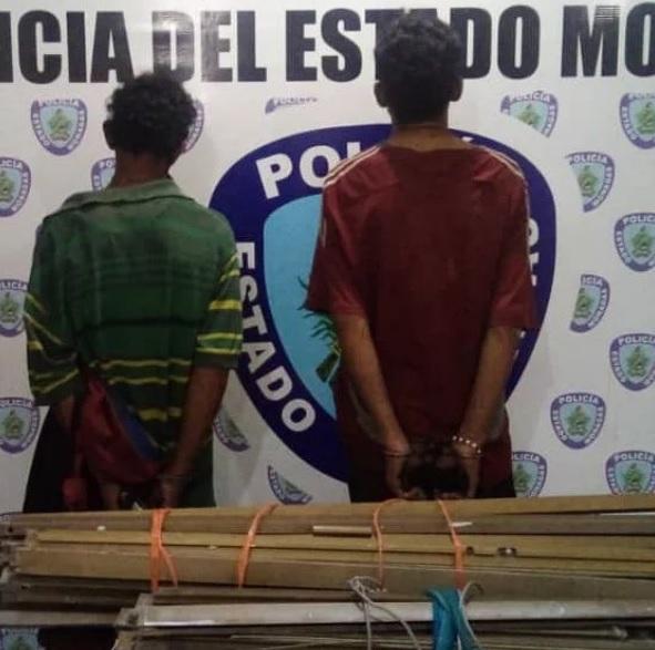 polimonagas frustro hurto en la upel y detuvo a los chatarreros laverdaddemonagas.com sin titulodfdffd