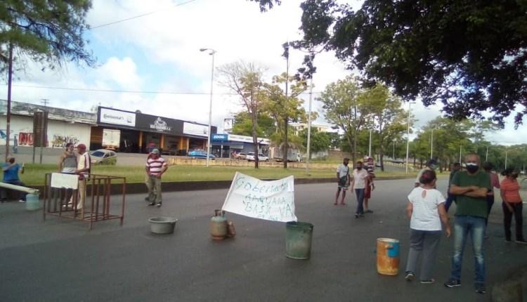 Protesta av. Libertador