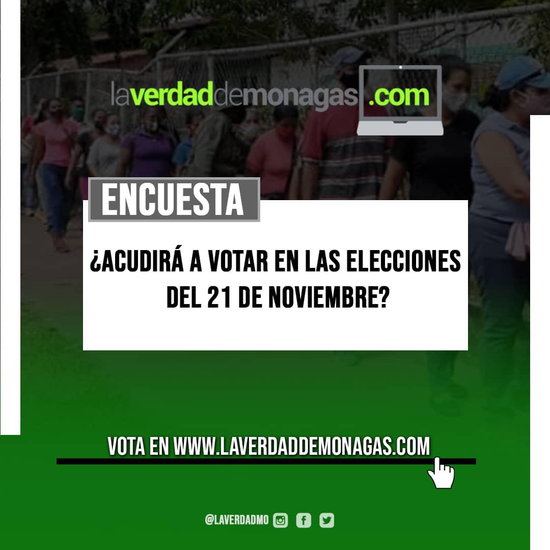 laverdaddemonagas.com votara usted en las elecciones del 21 de noviembre