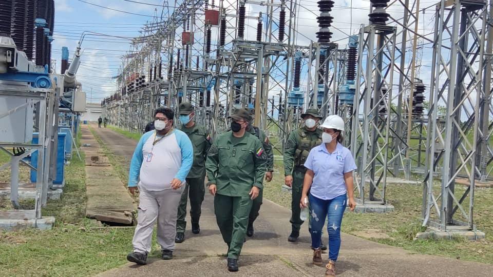 zodi monagas realizo mantenimiento en subestacion el indio y atendio a trabajadores de corpoelec laverdaddemonagas.com perez mota 2