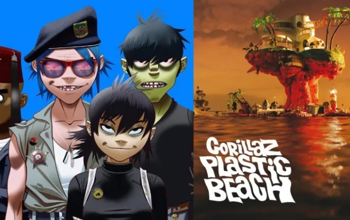"""Gorillaz is celebrating the tenth anniversary of the release of """"Plastic Beach"""""""