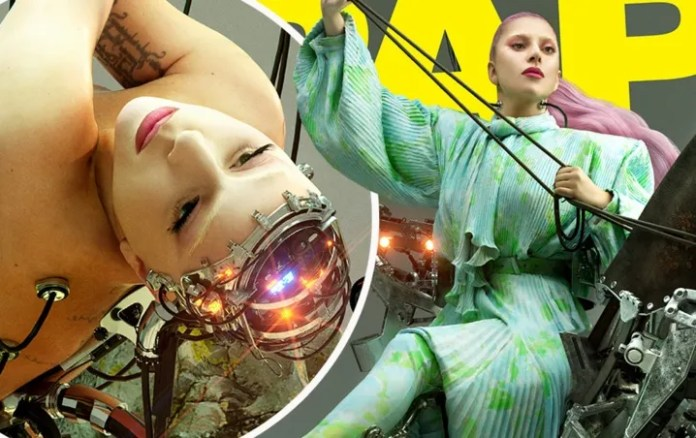 Lady Gaga stars in ardent session of photos for a magazine we will see it all!
