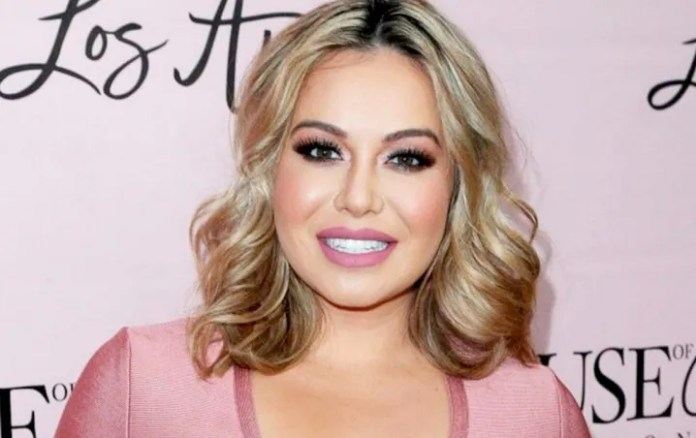 Chiquis Rivera shows the natural face of the quarantine by the coronavirus