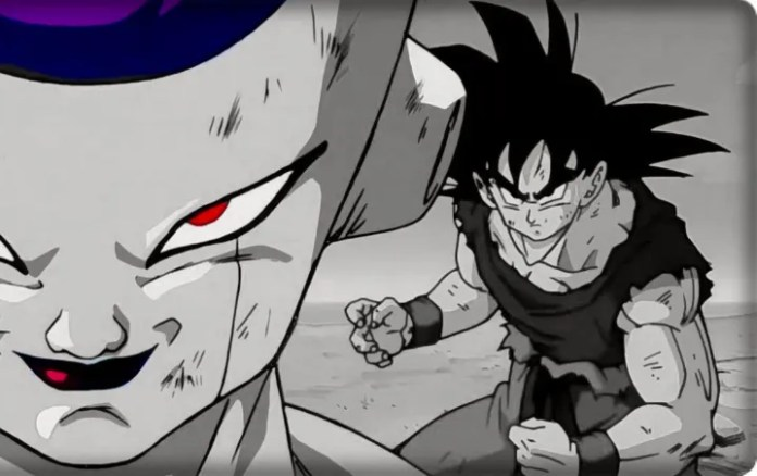 Goku and Frieza from Dragon Ball Z invite their fans to take care of the coronavirus