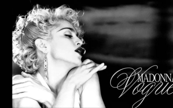 Madonna celebrates 30 years of Vogue, an iconic song of his career