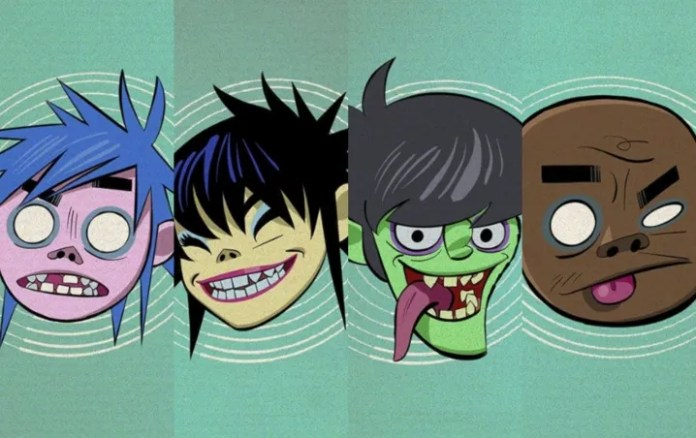 Gorillaz launches in Spotify playlists, inspired 2D, Noodle, Murdoc and Russel