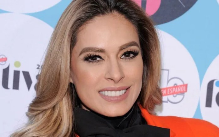 Galilea Montijo recalls a moving moment of his past it's Adorable!