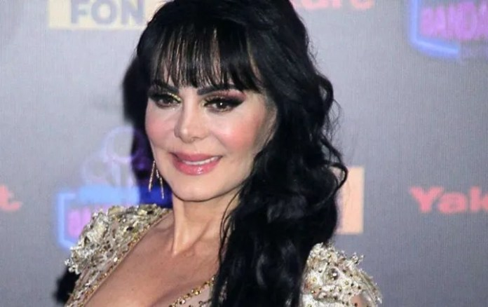 Maribel Guardia in appearance but with makeup as well pass the quarantine ¡Escándalo!