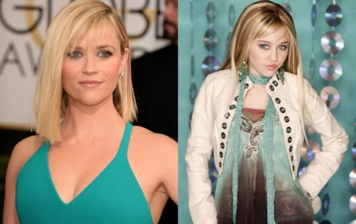"""Reese Witherspoon has been """"living"""" in the house of Hannah Montana without knowing it"""