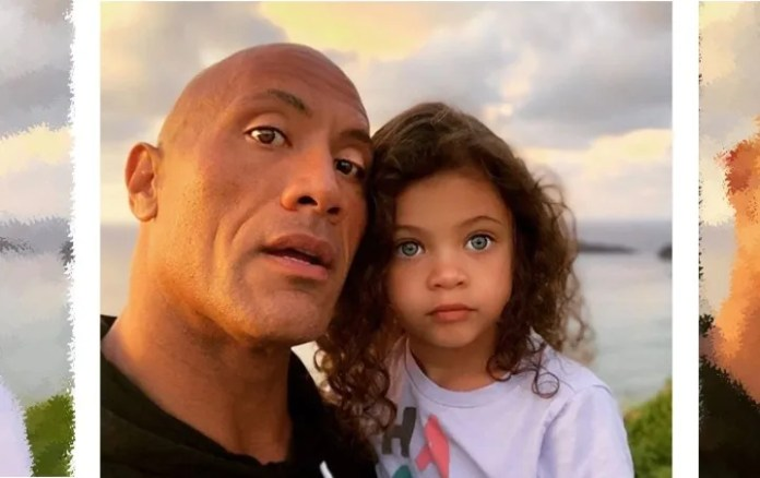 """Dwayne Johnson """"The Rock"""" captivates Instagram with video together with your daughter"""