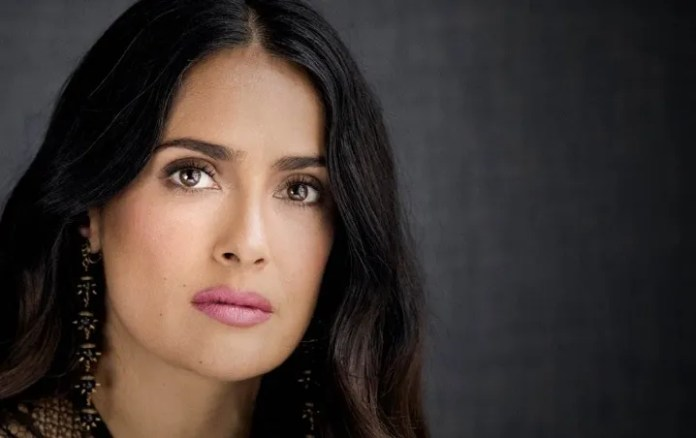 Salma Hayek suffers ANXIETY in this quarantine and that is as calm