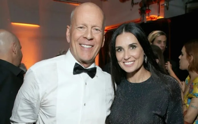 Demi Moore and Bruce Willis are back together?