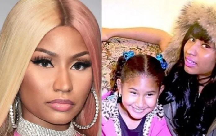 It is family! Sister of Nicki Minaj boasts in networks which is a great rapper