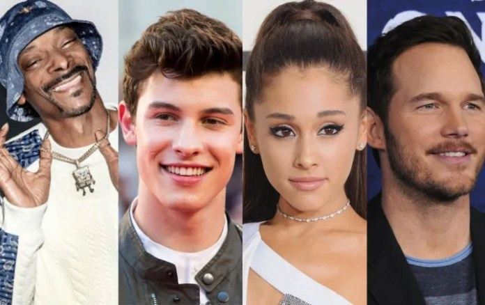 All In Challenge: Snoop Dogg, Shawn Mendes and more offer the best prizes