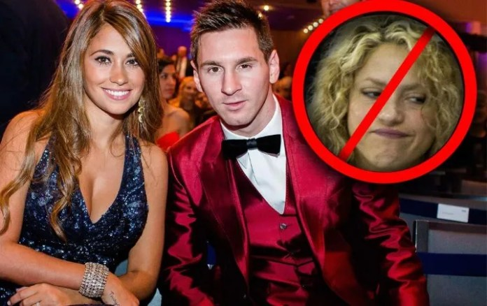 Shakira belittles the wife of Messi with a terrible gesture