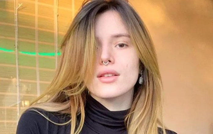Bella Thorne: Instagram makes them mad to see her pose in PANTIES
