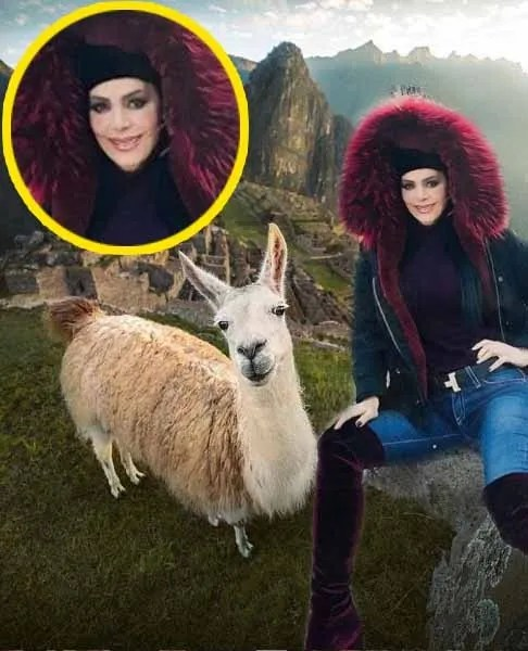 Maribel Guardia es destrozada por ridículo exceso de Photoshop (FOTO)