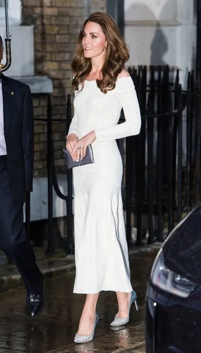 Kate Middleton: her collection of dresses that have been used by Hollywood stars