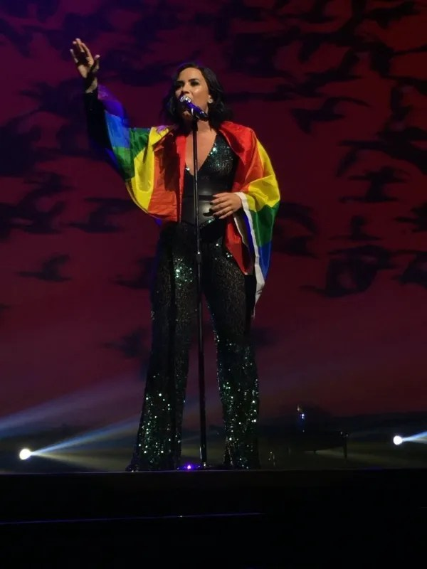 Demi Lovato always shows support to the LGBT community