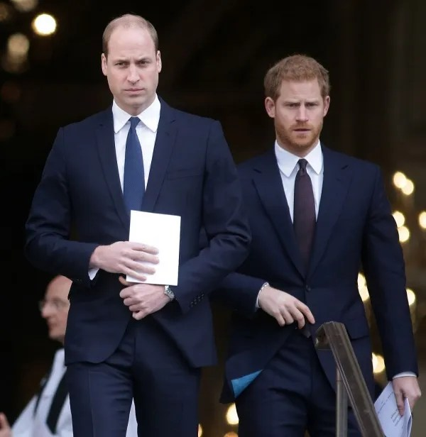 Prince William and Harry had a breakup after a marriage.