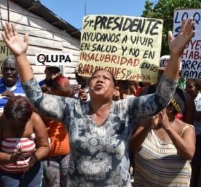Protesta Barracones