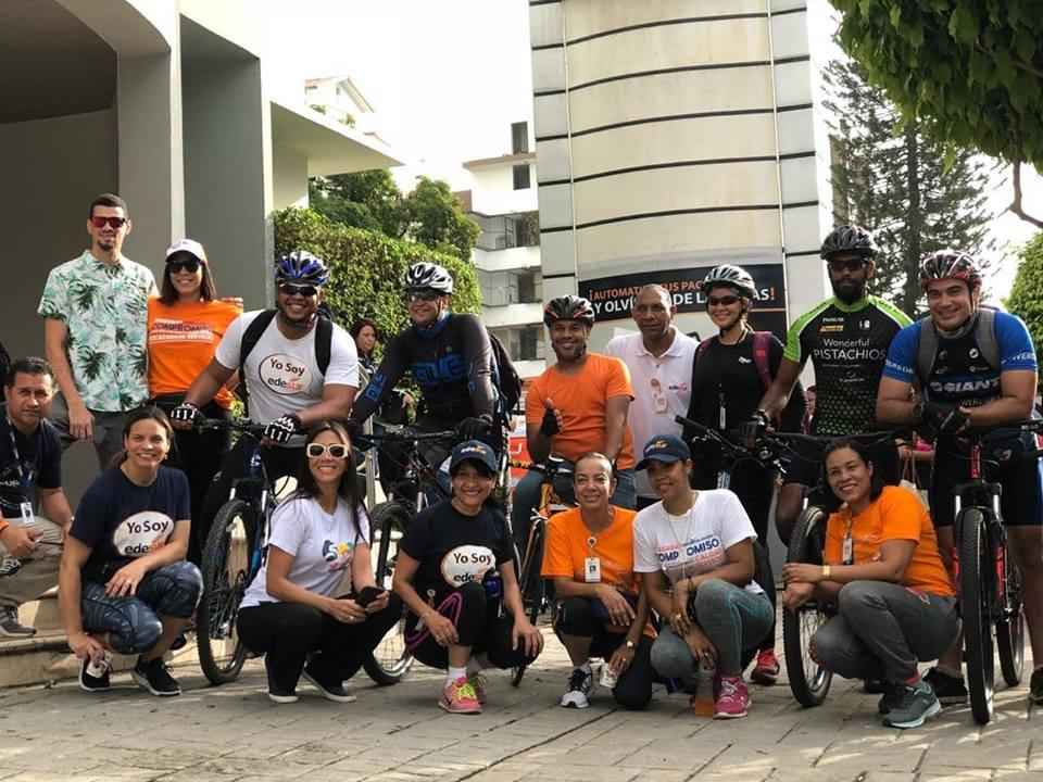 """EDESUR  se suma a la causa mundial """"Un Día Sin Carro"""""""