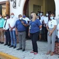 BARAHONA: Alcaldía presenta nuevos miembros de la policía municipal