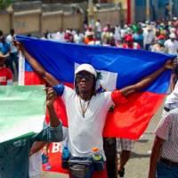 Haitianos protestan contra secuestros en Puerto Príncipe