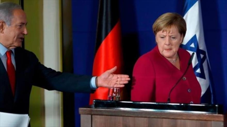 """La Merkel respinge la richiesta di aiuto di Netanyahu. """"I respiratori artificiali mancano anche a noi"""""""