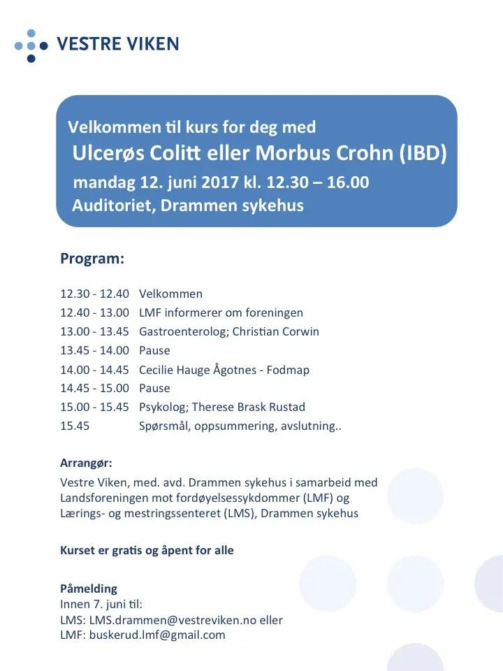 foredrag på Drammen sykehus