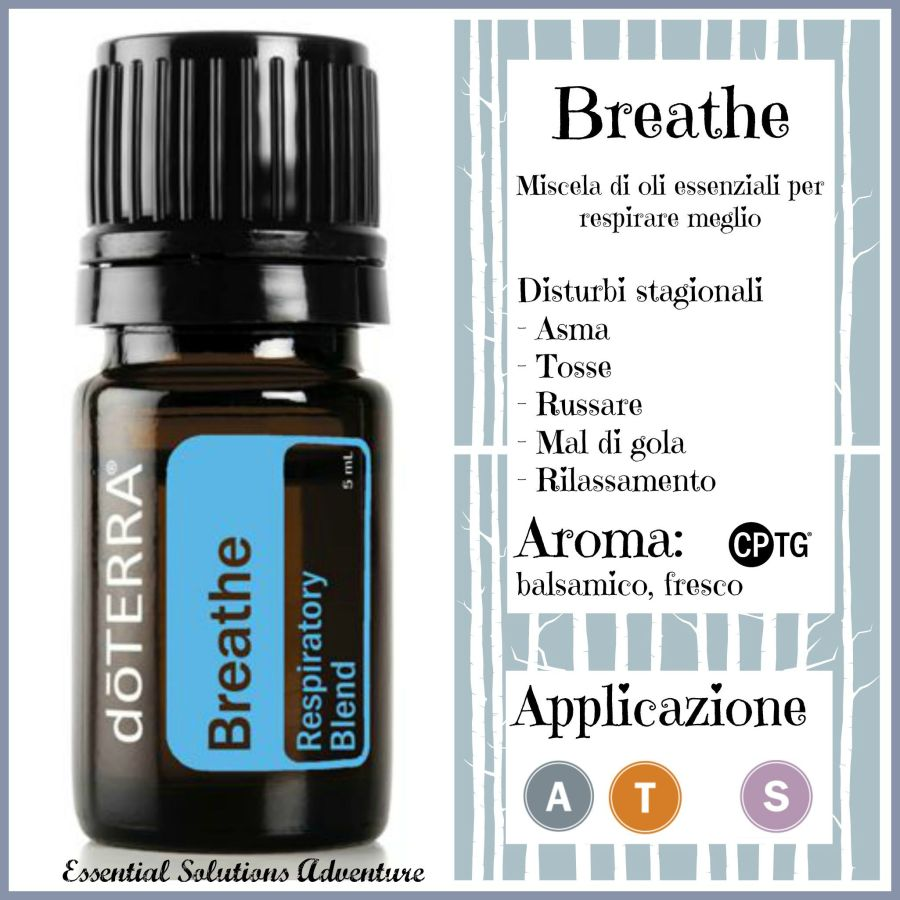 Breathe scheda + logo