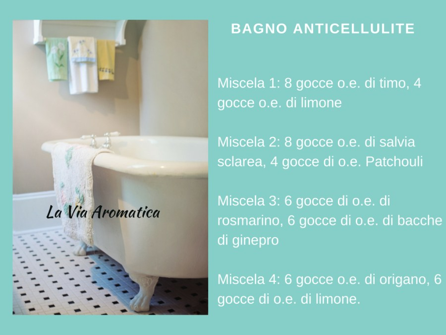 Bagno anticellulite