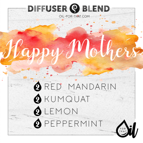 Red mandarin and kumquat diffuser blend