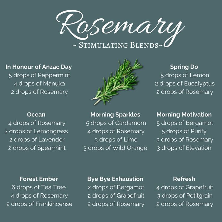 Rosemary diffuser blends 2