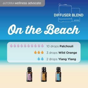 diffuser-blend-on-the-beach ylang ylang