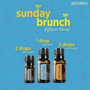 doTERRA-Essential-Oils-Sunday-Brunch-Diffuser-Blend-ylang ylang