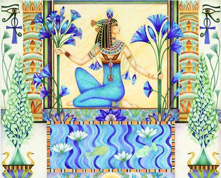 Blue lotus egypt Pinterest