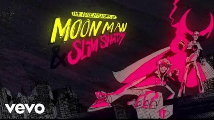 Eminem Joins In Kid Cudi 'The Adventures of Moon Man & Slim Shady' Lyrics Meaning