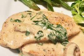 keto chicken recipe, keto meal prep