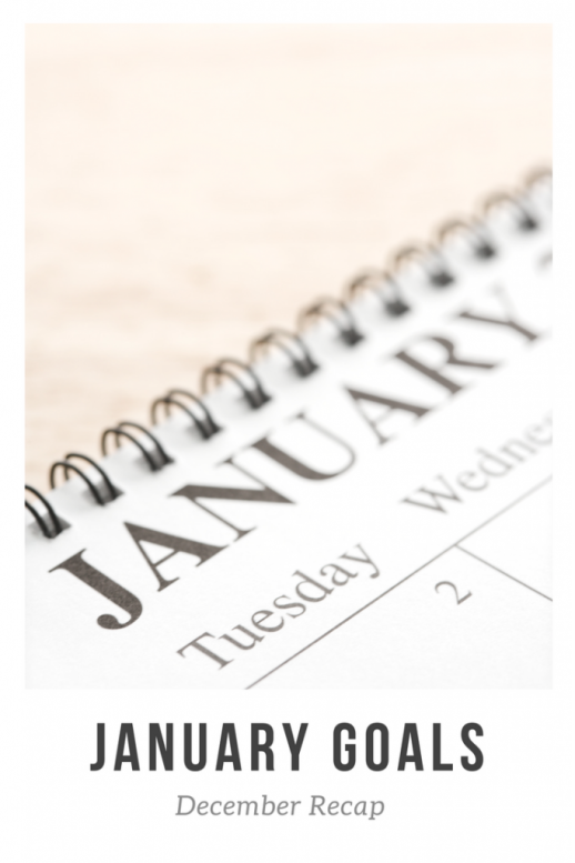 calendar of the month of January