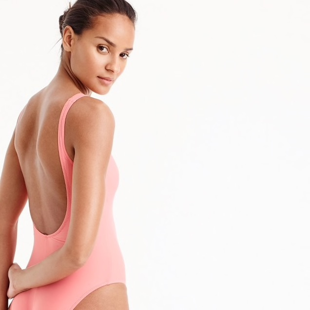 J Crew Swimsuit Scoopback one piece