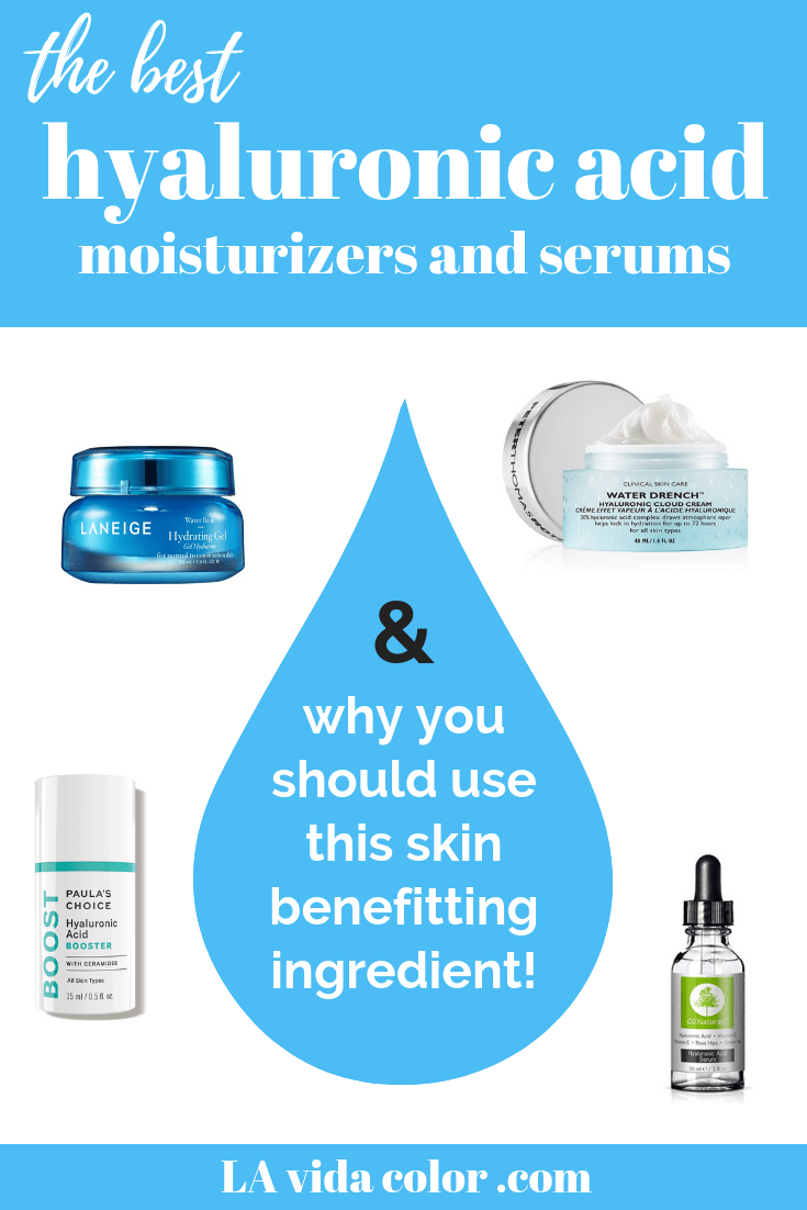 There's a lot of buzz on hyaluronic acid in skin care, but what is it and why use it? Here's the scoop on its skin benefits, plus my top moisturizer picks!